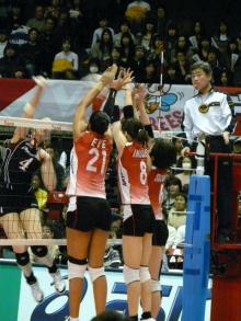 生涯学習!by Crazybowler-Vプレミアリーグ女子 東京体育館 2011/2/20