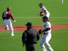生涯学習!by Crazybowler-2011プロ野球開幕戦 ロッテVS楽天