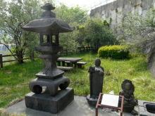 生涯学習!by Crazybowler-銅親水公園 松木村の石灯篭