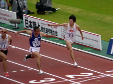 生涯学習!by Crazybowler-第95回日本選手権 男子100m準決勝