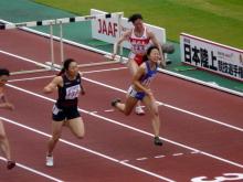 生涯学習!by Crazybowler-第95回日本選手権 女子100mH準決勝