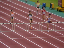 生涯学習!by Crazybowler-第95回日本選手権 女子400mH決勝