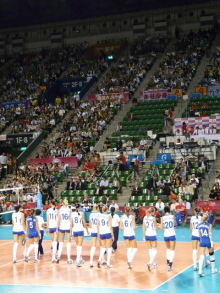 $生涯学習!by Crazybowler-Woman Volleyball World Grand Prix JapanvsRussia