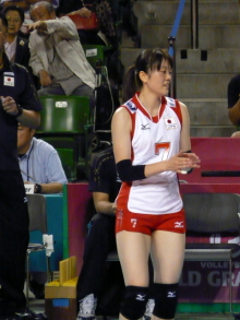 $生涯学習!by Crazybowler-Woman Volleyball World Grand Prix Mai Yamaguchi