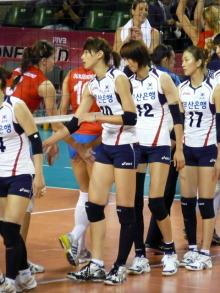 生涯学習!by Crazybowler-女子バレーワールドグランプリ2011 韓国vsセルビア