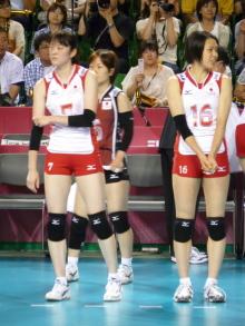生涯学習!by Crazybowler-2011女子バレーワールドグランプリ 韓国戦