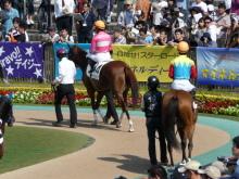 生涯学習!by Crazybowler-東京競馬場 パドック