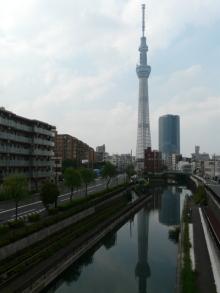 生涯学習!by Crazybowler-東京スカイツリー 柳橋歩道橋