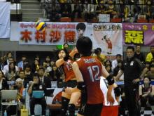生涯学習!by Crazybowler-ワールドカップ女子バレー 中国vs日本