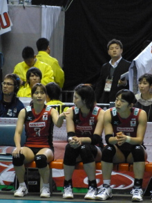 生涯学習!by Crazybowler-ワールドカップ女子バレー2011 中国vs日本