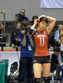 $生涯学習!by Crazybowler-ワールドカップ女子バレー2011 中国vs日本