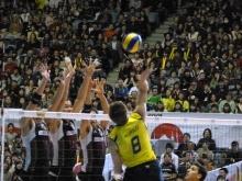 生涯学習!by Crazybowler-男子バレー ワールドカップ2011 日本vsブラジル