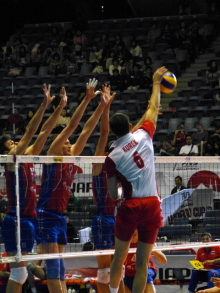 生涯学習!by Crazybowler-Men's Volleybal  World Cup2011 Russia vs Porland