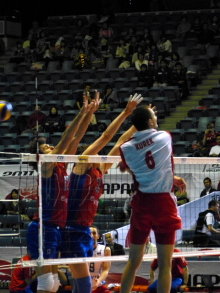 $生涯学習!by Crazybowler-Men's Volleybal  World Cup2011 Russia vs Porland
