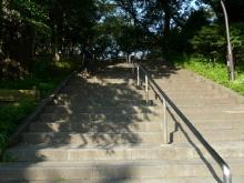 $生涯学習!by Crazybowler-階段 不忍池から上野公園