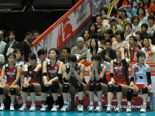 生涯学習!by Crazybowler-女子バレー2012OQT 日本vsペルー