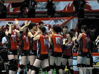 生涯学習!by Crazybowler-2012OQT全日本女子バレーチーム