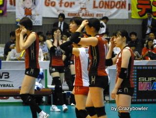 $生涯学習!by Crazybowler-女子バレーワールドカップ2011 日本vs中国