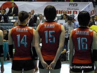 $生涯学習!by Crazybowler-女子バレーワールドカップ2011 日本vsケニア