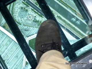 生涯学習!by Crazybowler-東京スカイツリー 展望デッキ ガラス床