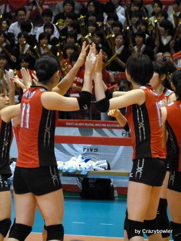 生涯学習!by Crazybowler-五輪最終予選2012女子バレー