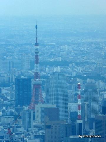 生涯学習!by Crazybowler-東京スカイツリー 展望回廊から東京タワー