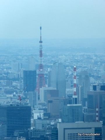 生涯学習!by Crazybowler-東京スカイツリー 展望デッキから東京タワー