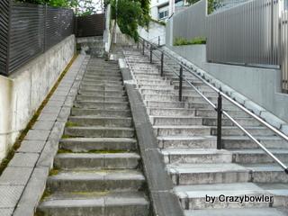 生涯学習!by Crazybowler-おばけ階段(文京区)
