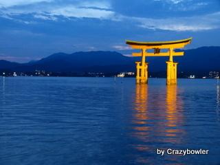 生涯学習!by Crazybowler-夜の厳島神社