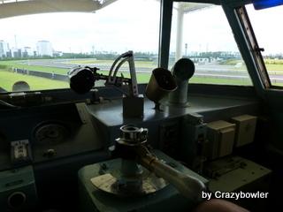 生涯学習!by Crazybowler-中京競馬場 名鉄7000系 運転席