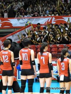 生涯学習!by Crazybowler-女子バレー2012OQT 日本vsロシア