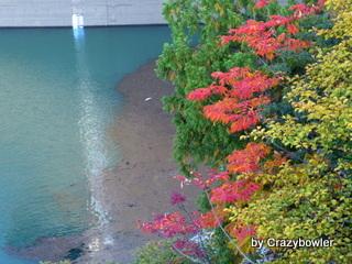 生涯学習!by Crazybowler-矢木沢ダム2012-10-20