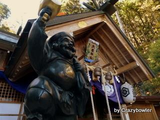 $生涯学習!by Crazybowler-中之嶽大国神社社殿
