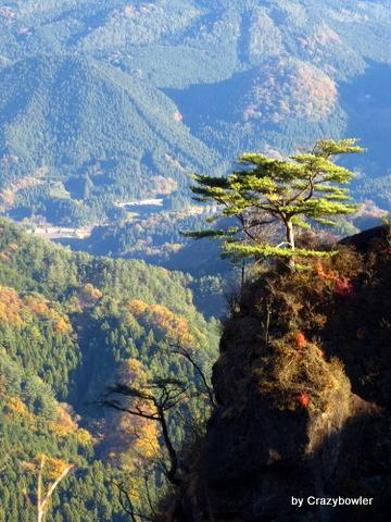 生涯学習!by Crazybowler-妙義山 見晴台からの風景