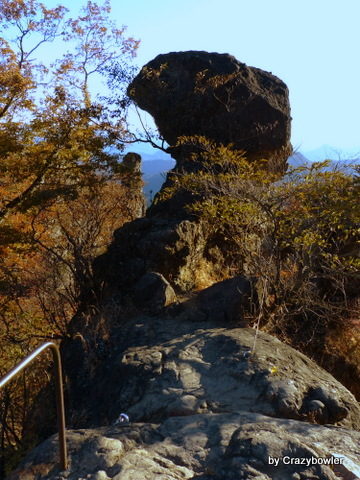 $生涯学習!by Crazybowler-妙義山 大砲岩?