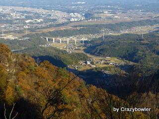 生涯学習!by Crazybowler-妙義山 金洞山中腹からの景色