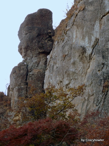 $生涯学習!by Crazybowler-妙義山 第二石門からの風景