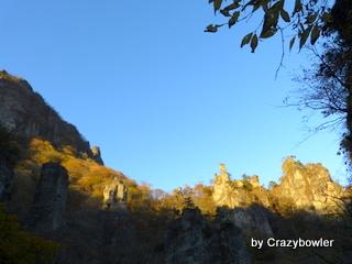 生涯学習!by Crazybowler-妙義山 第二石門からの風景
