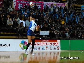 $生涯学習!by Crazybowler-Vプレミアリーグ2012/13 岡山vs久光