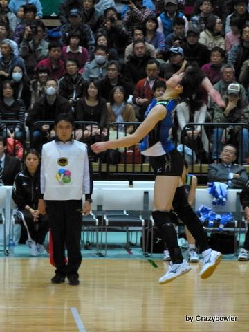 生涯学習!by Crazybowler-Vプレミアリーグ2012/13 岡山vs久光