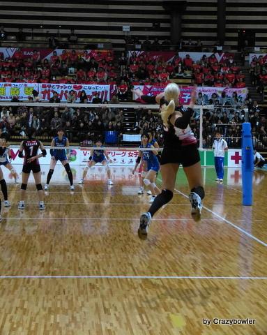 生涯学習!by Crazybowler-Vプレミアリーグ2012/13 NECvs岡山
