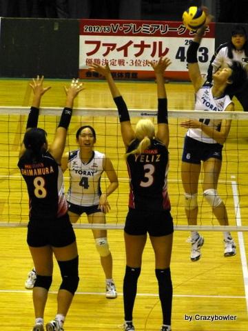 生涯学習!by Crazybowler-2012皇后杯準々決勝 東レVSNEC