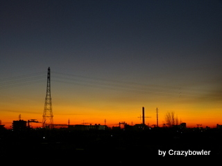 $生涯学習!by Crazybowler-足立区の朝 2012/12/28