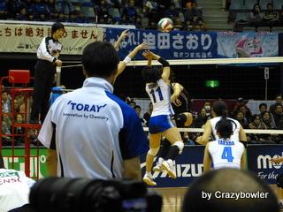 $生涯学習!by Crazybowler-Vプレミアリーグ2012/13 東レvsデンソー 川崎