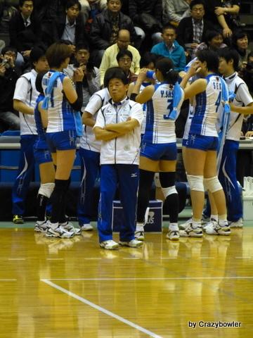 生涯学習!by Crazybowler-Vプレミアリーグ2012/13 NECvs岡山(所沢)