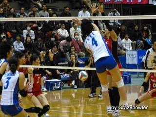 生涯学習!by Crazybowler-Vプレミアリーグ2012/13女子 岡山vsNEC 所沢