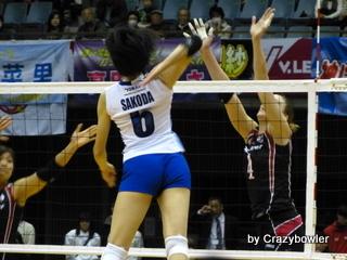 $生涯学習!by Crazybowler-Vプレミアリーグ2012/13女子 NECvs東レ(川崎)