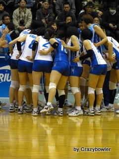 $生涯学習!by Crazybowler-Vプレミアリーグ2012/13女子 岡山vsNEC(所沢)