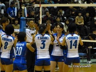 $生涯学習!by Crazybowler-Vプレミアリーグ2012/13 岡山vsNEC