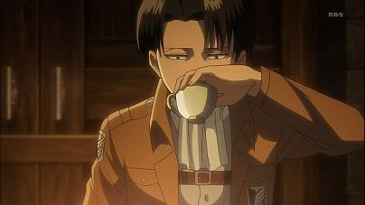 リヴァイお茶